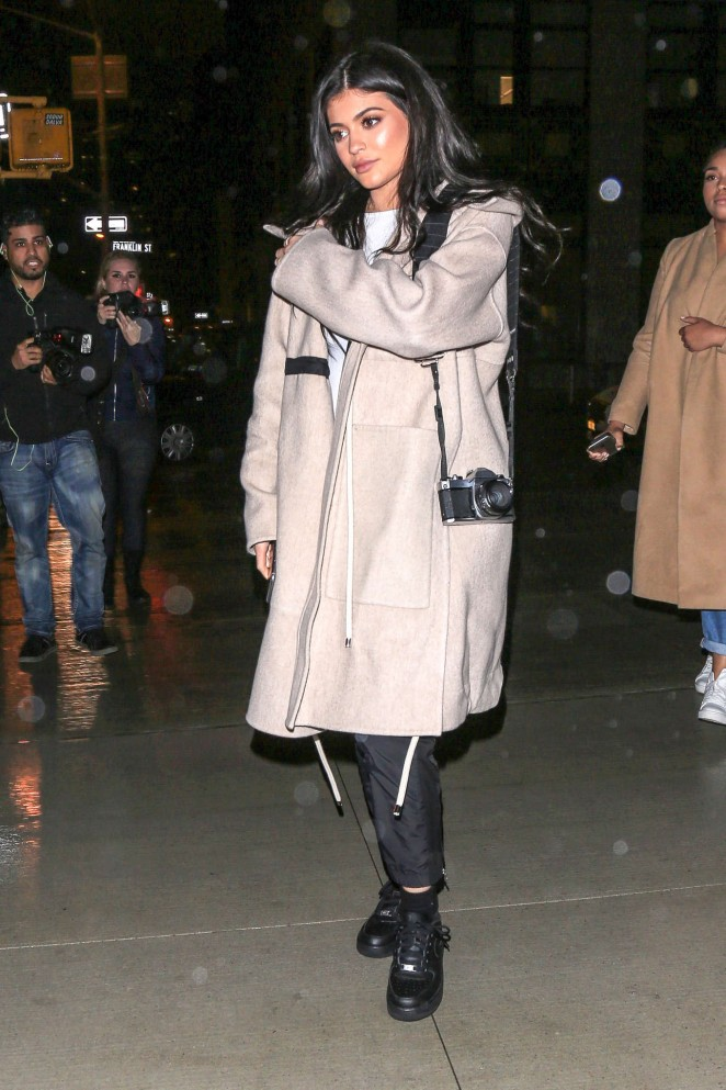 Kylie Jenner at Nobu in New York -15