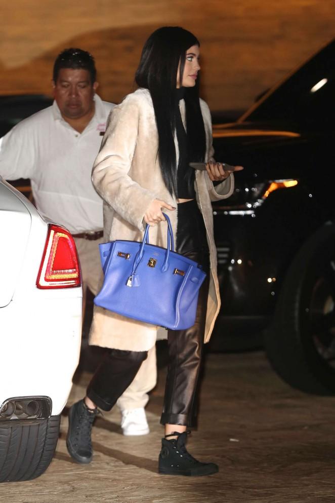 Kylie Jenner  at Nobu Restaurant in Malibu