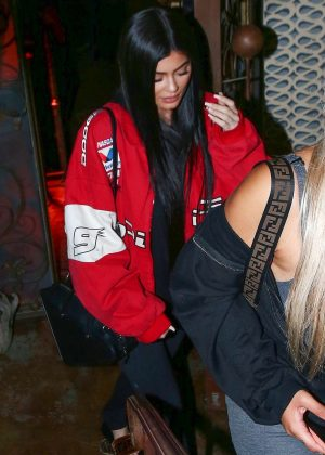 Kylie Jenner at Pace restaurant in Los Angeles