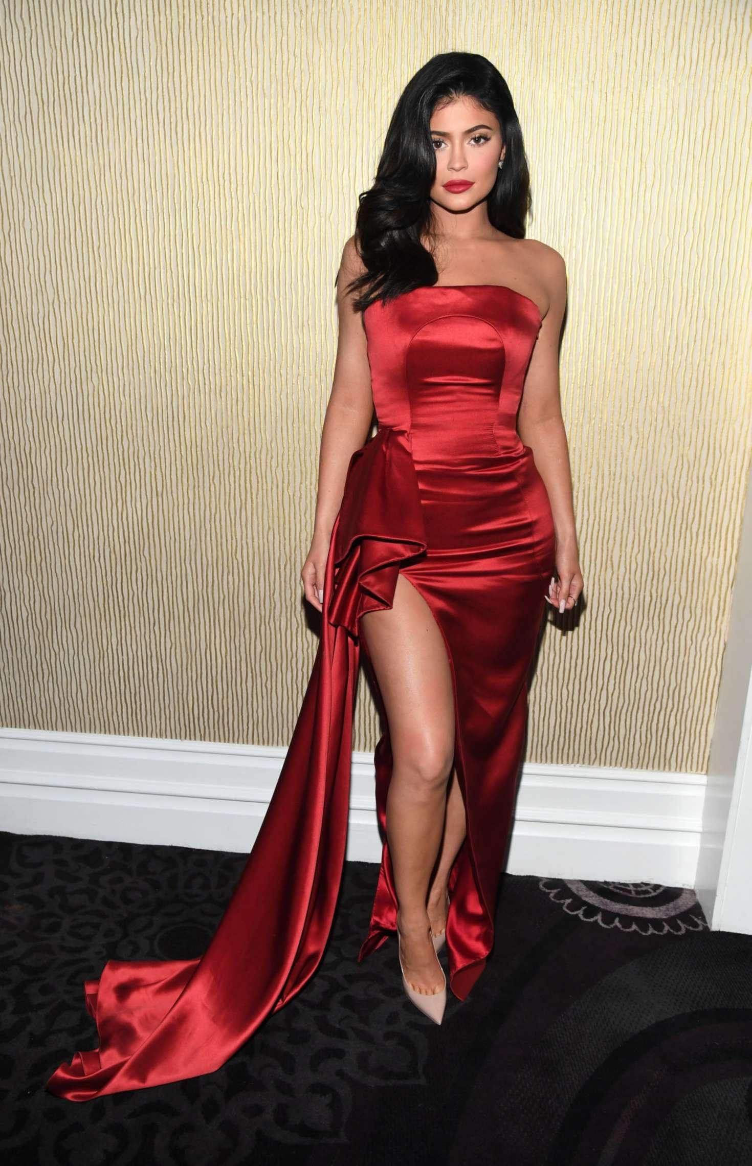 Kylie Jenner at Pre-GRAMMY Gala in LA