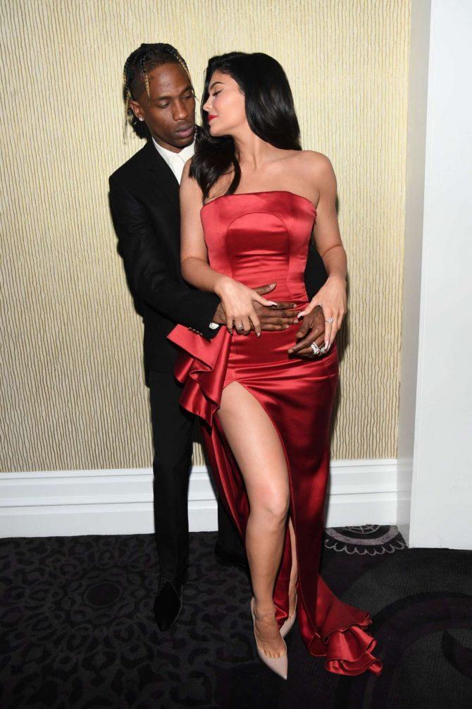 Kylie Jenner at Pre-GRAMMY Gala -03