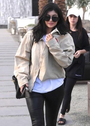 Kylie Jenner at Restoration Hardware in West Hollywood