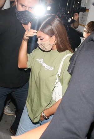 Kylie Jenner - Attends a tiktok party with Zack Pia at 40 Love in West Hollywood