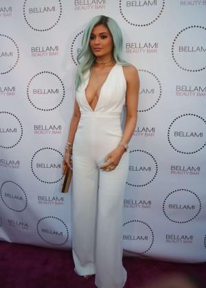 Kylie Jenner: Bellami Beauty Bar -14   GotCeleb