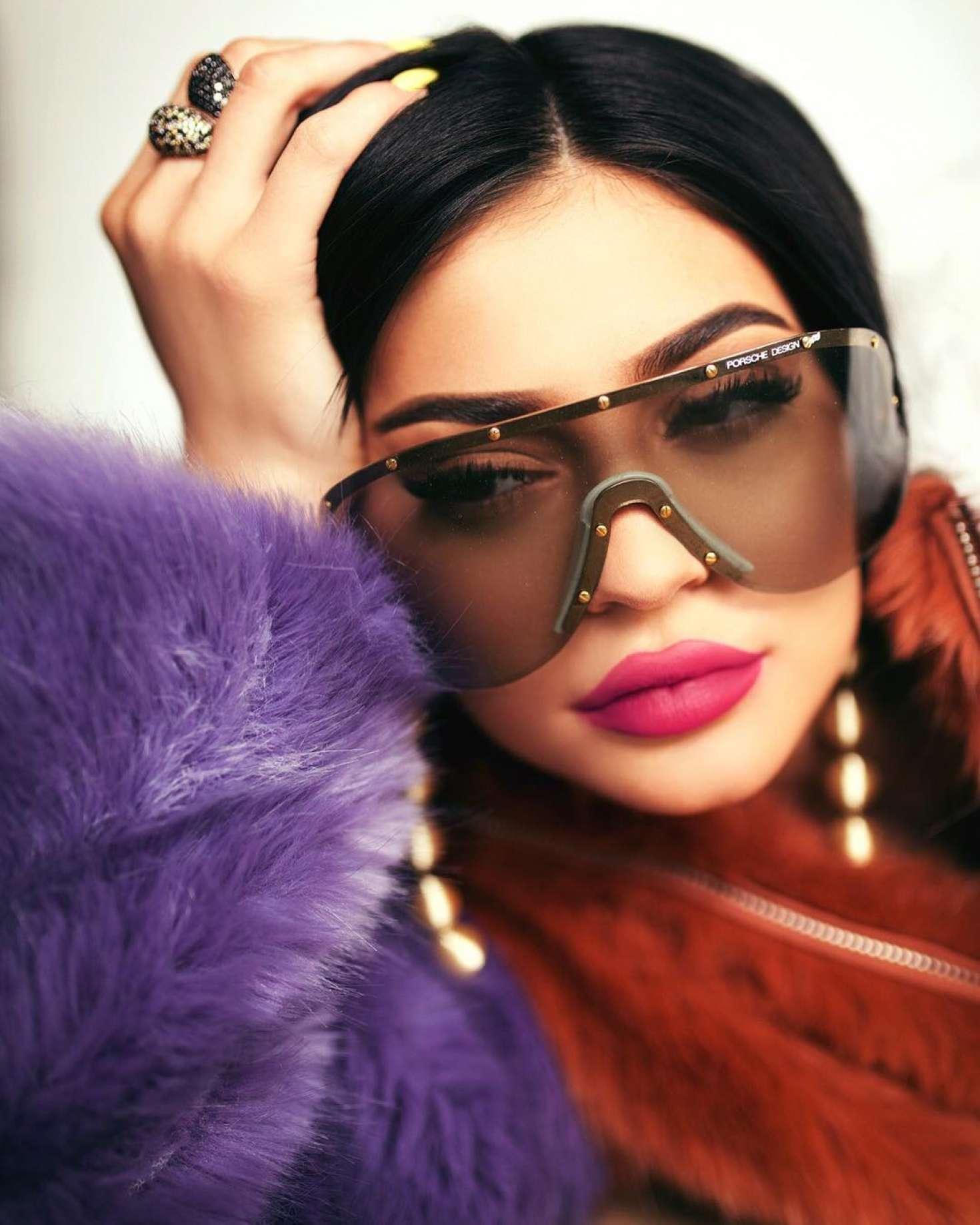 Kylie Jenner by Sasha Samsonova Shoot 2017