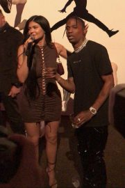 Kylie Jenner - Celebrates Travis Scott's birthday in Los Angeles