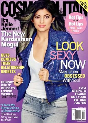 Kylie Jenner - Cosmopolitan Magazine (February 2015)