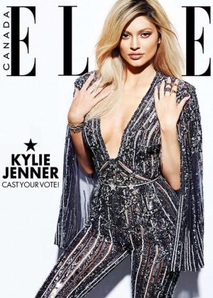 Kylie Jenner - Elle Canada Cover (December 2015)