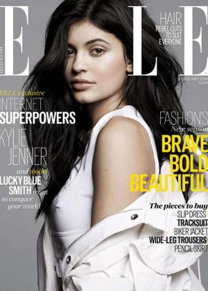 Kylie Jenner - Elle UK Magazine (February 2016)