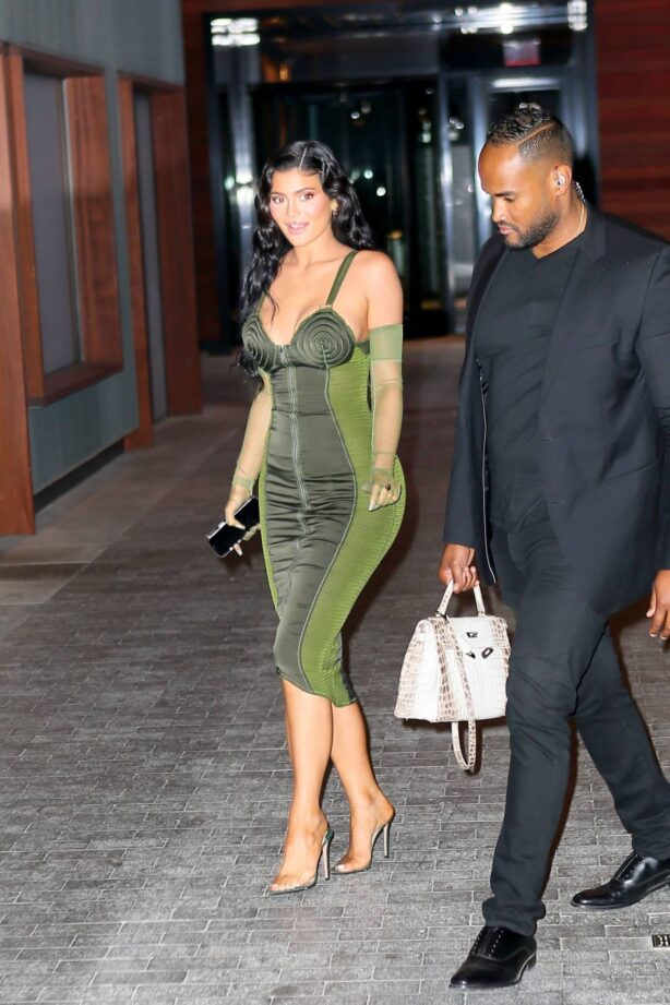 Kylie Jenner - exits the Parsons Benefit in New York