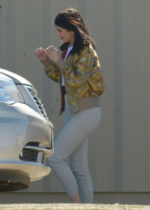 Kylie Jenner Filming in Los Angeles -02