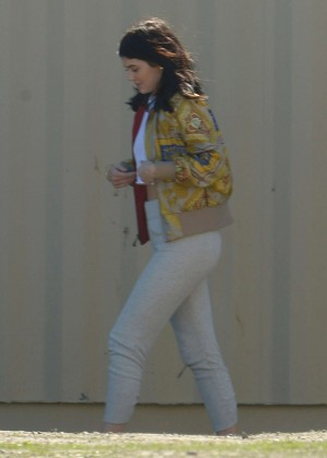 Kylie Jenner Filming in Los Angeles -04