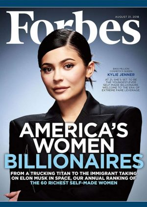 Kylie Jenner - Forbes Magazine (August 2018)