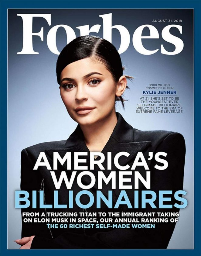 Kylie Jenner – Forbes Magazine (August 2018)