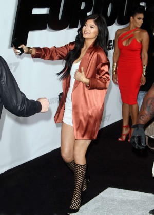 Kylie Jenner - 'Furious 7' Premiere in Hollywood