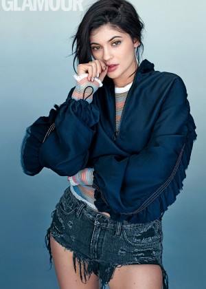 Kylie Jenner - Glamour UK Magazine (June 2016)