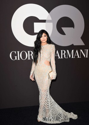 Kylie Jenner: GQ and Giorgio Armani Grammys After Party -03