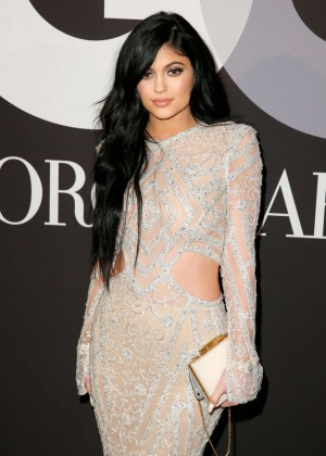 Kylie Jenner - GQ and Giorgio Armani Grammys After Party in Hollywood
