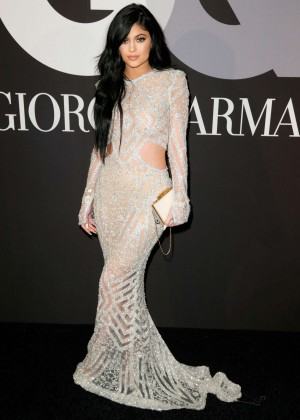 Kylie Jenner: GQ and Giorgio Armani Grammys After Party -07