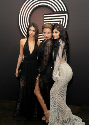 Kylie Jenner: GQ and Giorgio Armani Grammys After Party -13