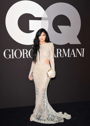 Kylie Jenner: GQ and Giorgio Armani Grammys After Party -15
