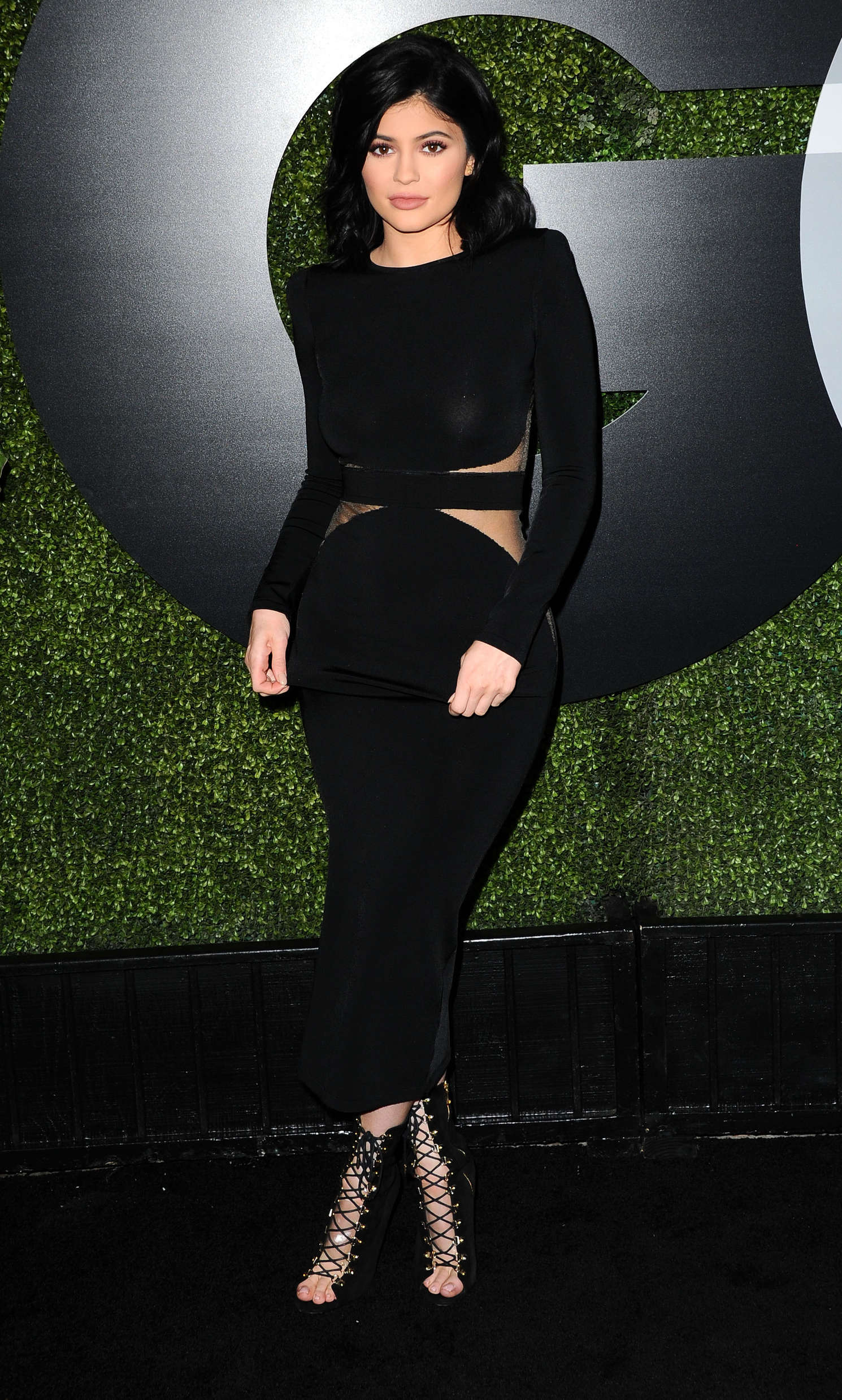 kylie jenner gq men of the year party 2015 in la