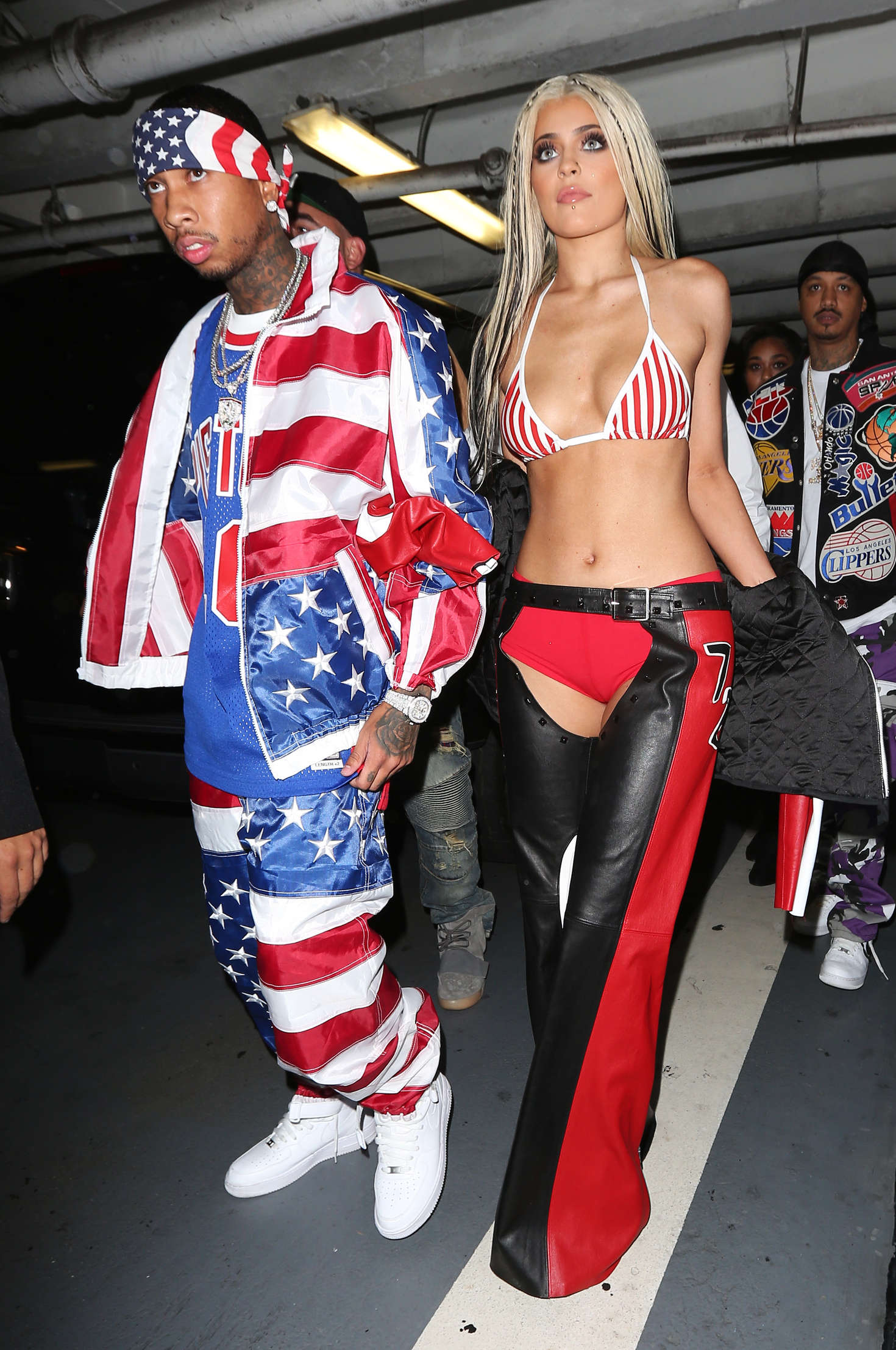 Kylie Jenner: Halloween Party at Bootsy Bellows -24 - GotCeleb