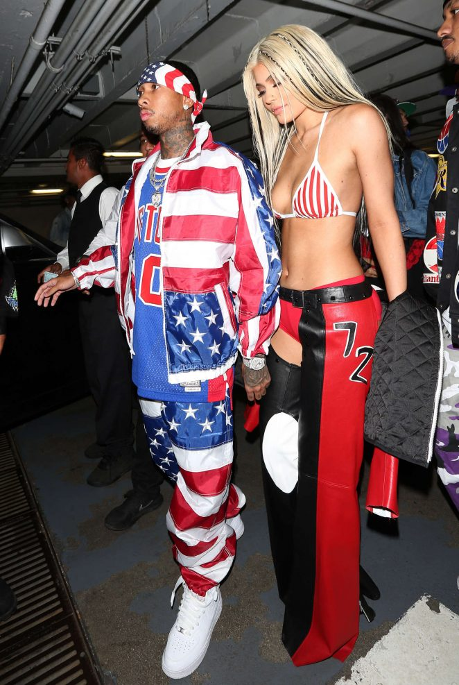 Kylie Jenner: Halloween Party at Bootsy Bellows -06 - GotCeleb
