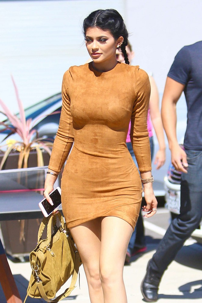 Kylie Jenner – Headed to a studio in Culver City