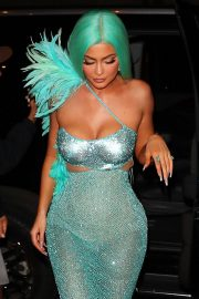 Kylie Jenner - Heads to the Met Gala After Party in NYC