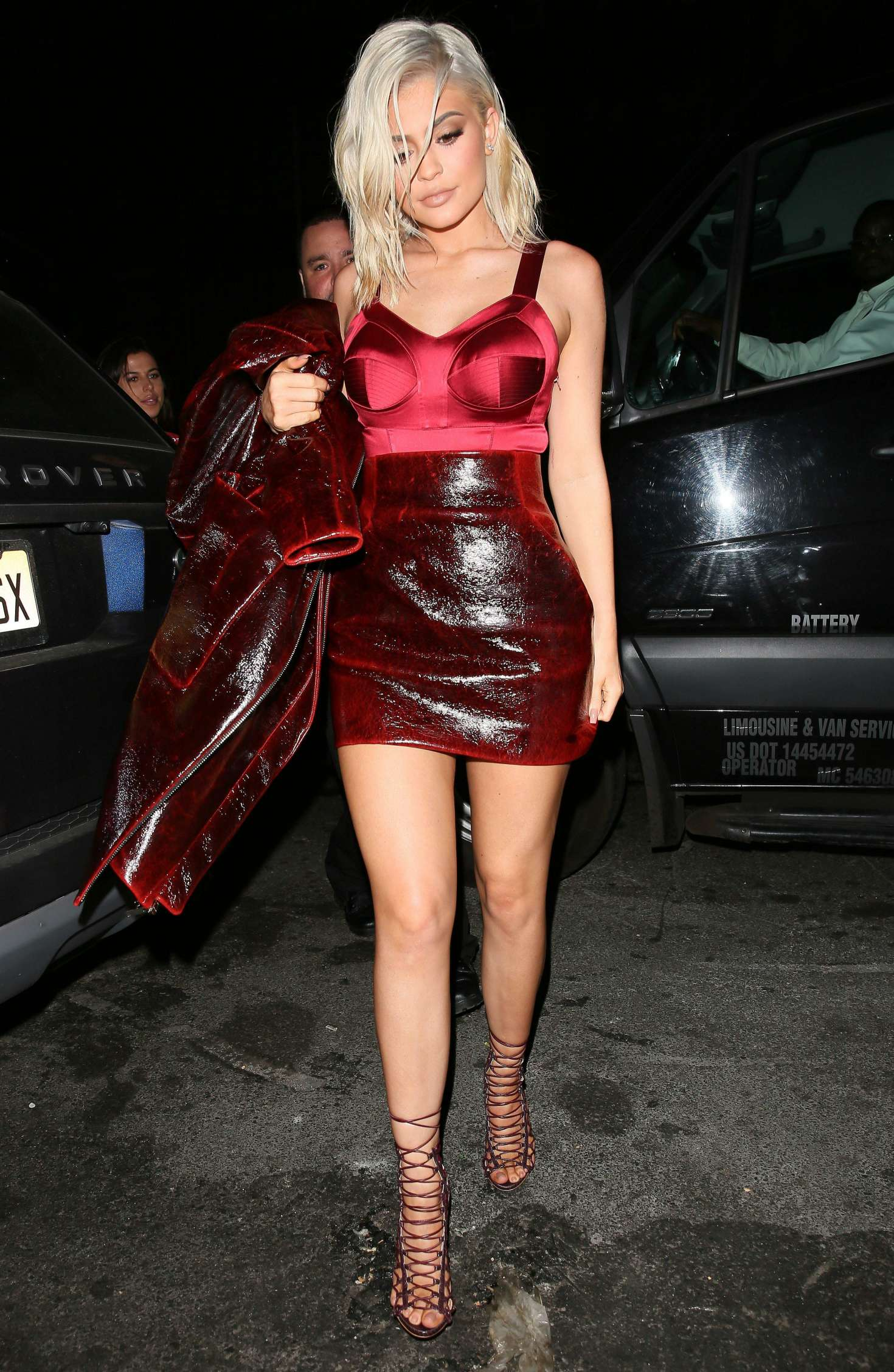 Kylie Jenner In Red -12