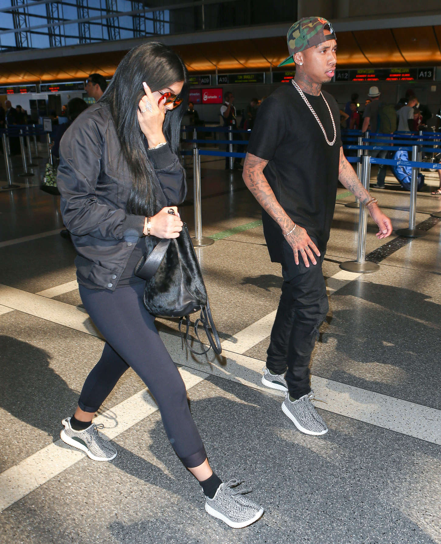 Kylie Jenner Booty In Tights At Lax 19 Gotceleb
