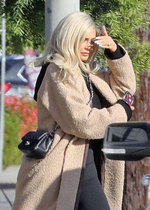 Kylie Jenner - Leaving a studio in Los Angeles