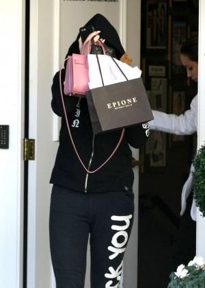 Kylie Jenner - Leaving Epione Skin Care Center in Beverly Hills