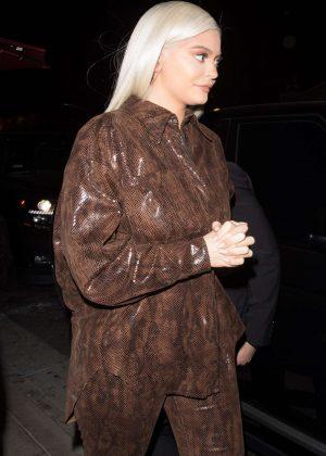 Kylie Jenner - Leaving her friend StassieBaby birthday dinner in Hollywood