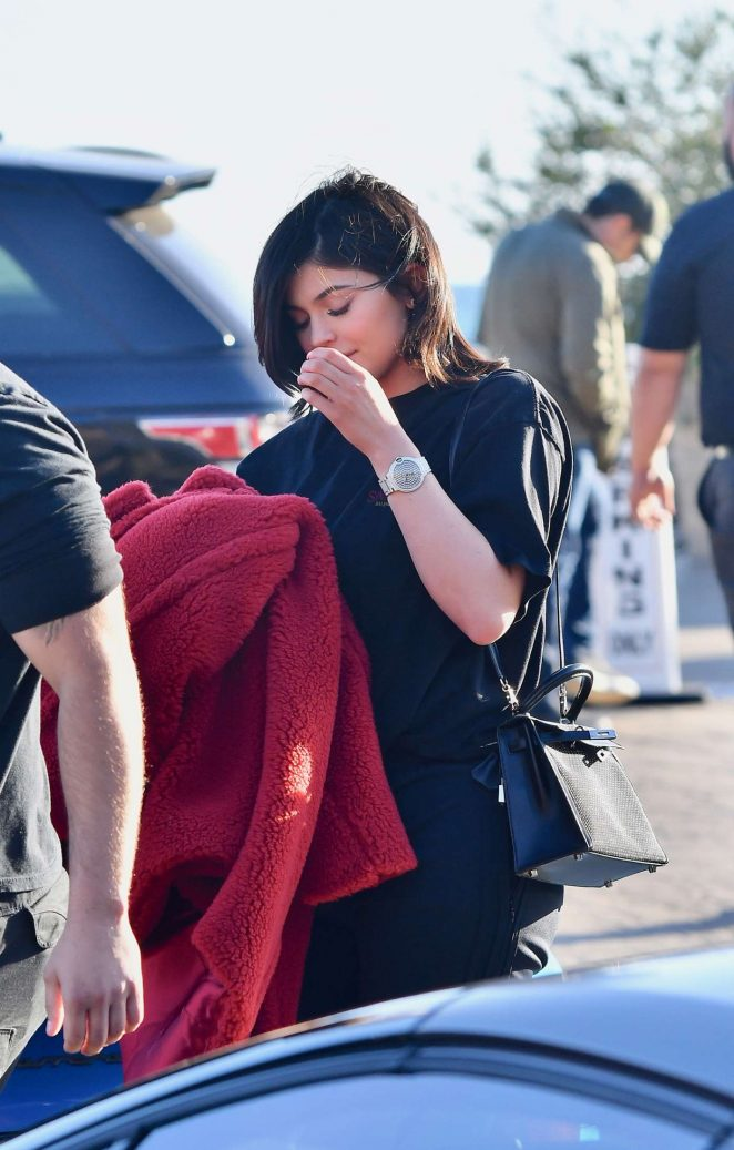Kylie Jenner - Leaving Nobu with Jordyn Woods in Malibu
