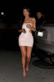 Kylie Jenner - Leaving the launch of her new skincare line event in LA
