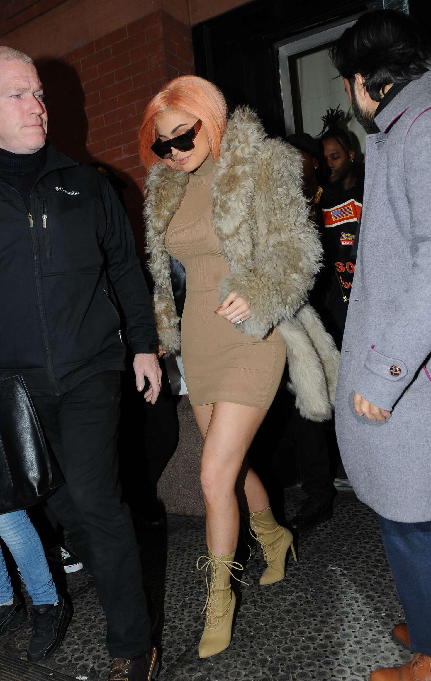 Kylie jenner leaving the mercer hotel in manhattan nudes (14 photo), Bikini Celebrity pics