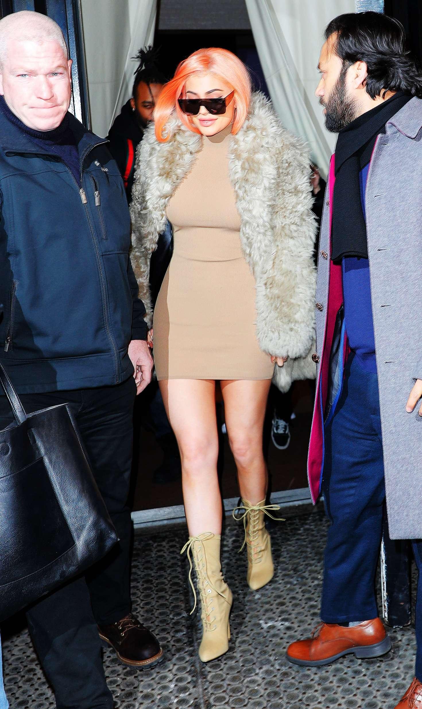 Kylie jenner leaving the mercer hotel in manhattan new pics