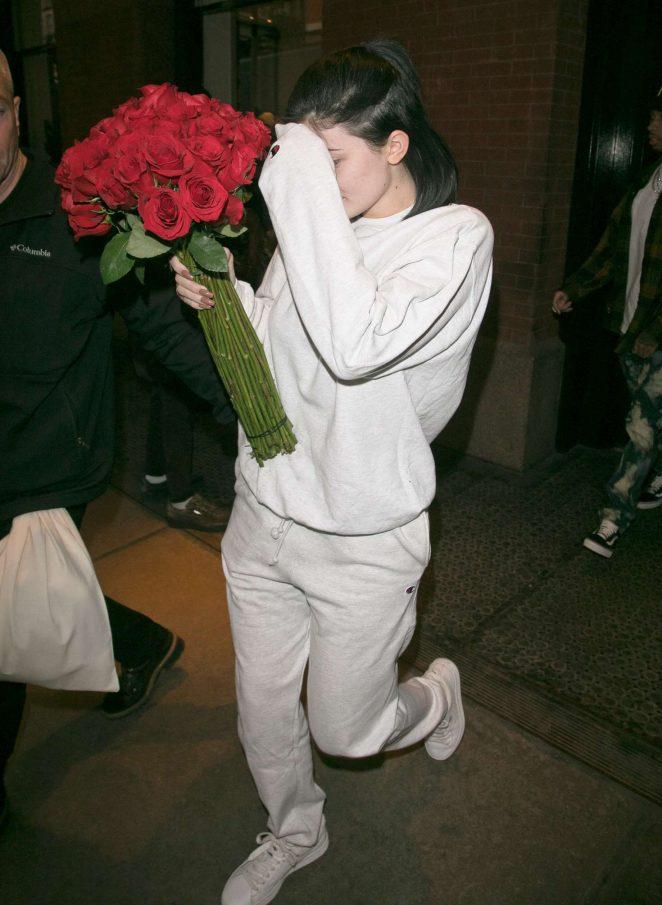 Kylie Jenner - Leaving the Mercer hotel in New York