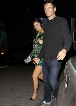 Kylie Jenner Leggy Candids at The Nice Guy -08