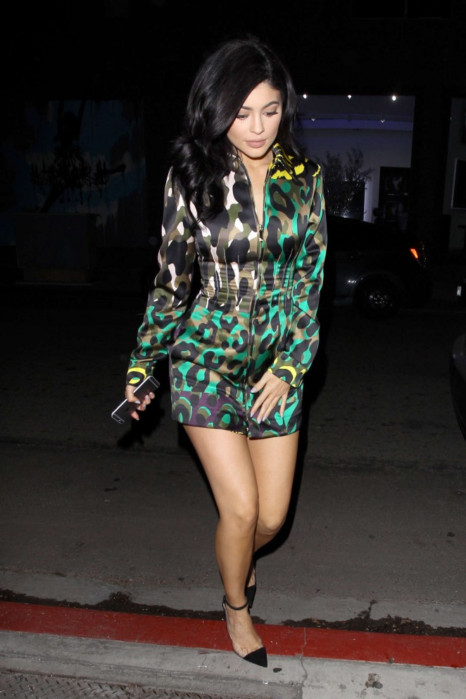 Kylie Jenner – Leaving The Nice Guy in West Hollywod