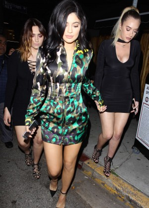 Kylie Jenner Leggy Candids at The Nice Guy -16