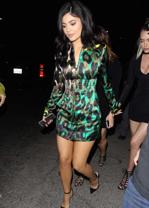 Kylie Jenner Leggy Candids at The Nice Guy -22