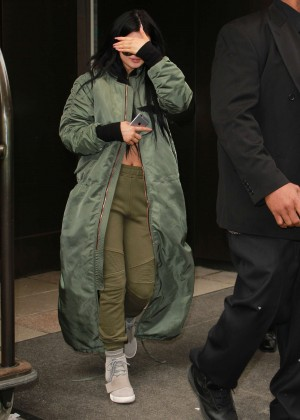 Kylie Jenner - Leaving the Trump Hotel in NYC