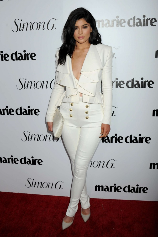 Kylie Jenner - Marie Claire Hosts Fresh Faces Party Celebrating May Issue Cover Stars in LA