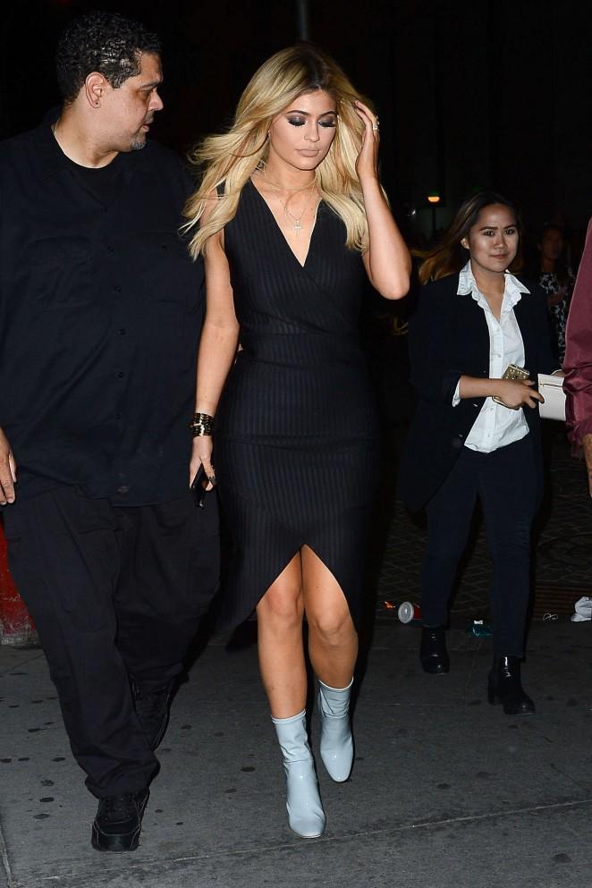 Kylie Jenner - New York Fashion Week Opening Ceremony