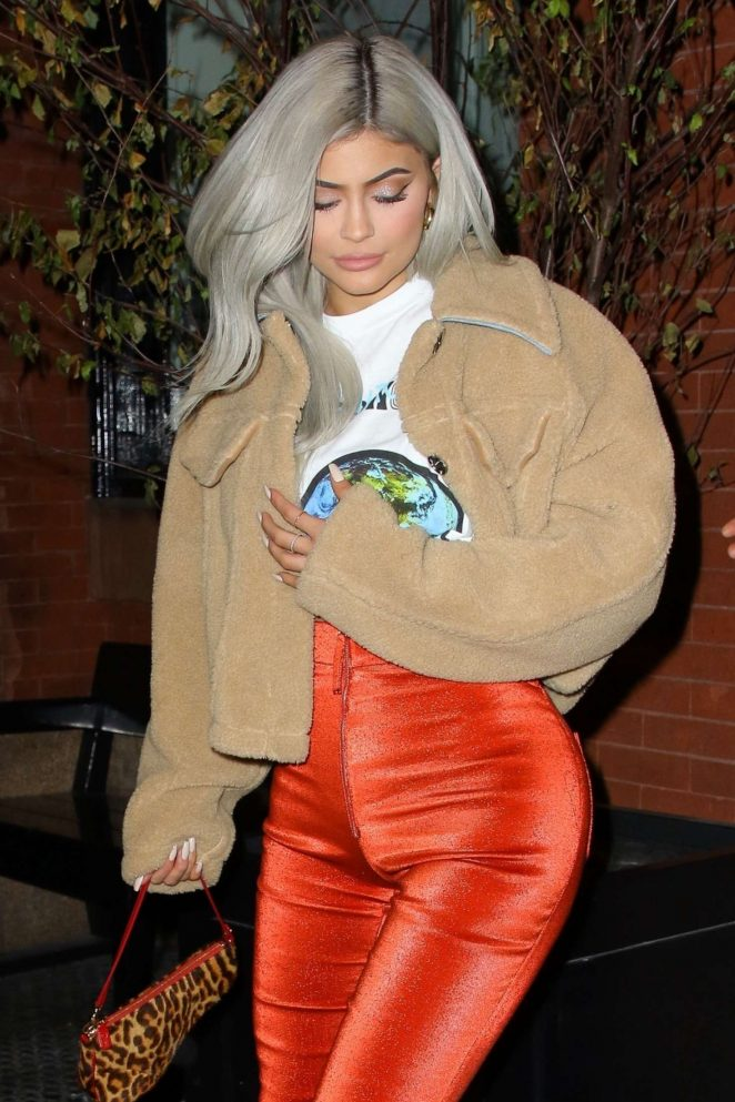 Kylie Jenner - Night out in NYC