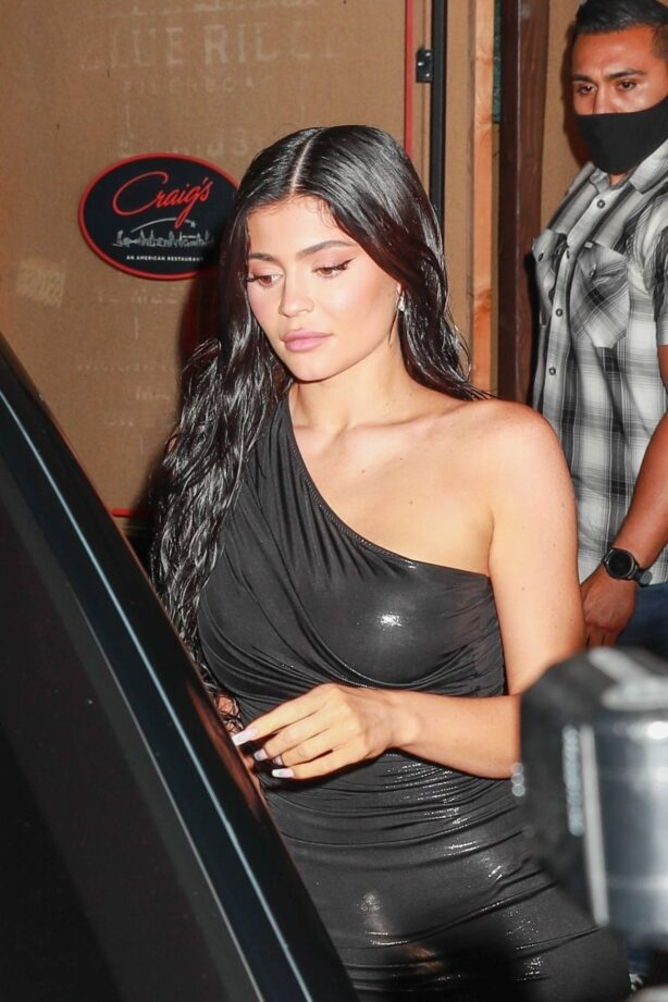 Kylie Jenner - Night out in West Hollywood