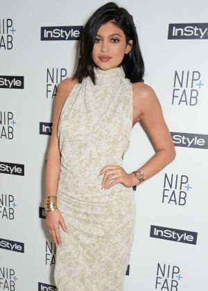 Kylie Jenner - NIP + FAB + InStyle Tea Party in London